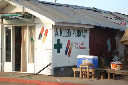 Modern Pharmacy in Liberia