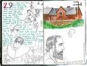 Polish Pilgrimage Sketchbook: 1993-95