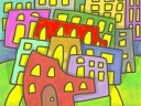 Brushes Painting: Batestown City Limits
